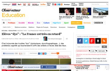 http://tempsreel.nouvelobs.com/education/20121008.OBS4928/eleves-dys-la-france-est-tres-en-retard.html