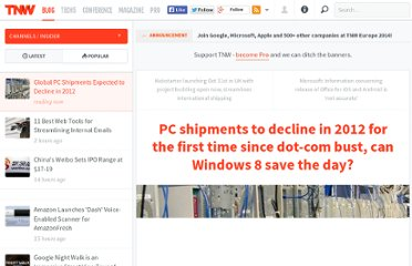 http://thenextweb.com/insider/2012/10/10/pc-shipments-to-decline-in-2012-for-the-first-time-since-dot-com-bust-can-windows-8-save-the-day/
