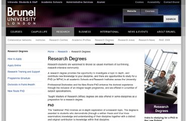 http://www.brunel.ac.uk/research/research-degrees-at-brunel