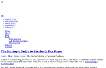 http://blog.kissmetrics.com/facebook-fan-pages-guide/
