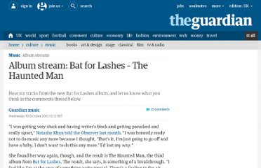 http://www.guardian.co.uk/music/musicblog/2012/oct/10/album-stream-bat-lasges-haunted-man