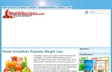http://healthrecipes.com/smoothies_weight_loss.htm