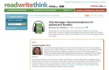 http://www.readwritethink.org/parent-afterschool-resources/podcast-series/text-messages-recommendations-adolescent-30214.html