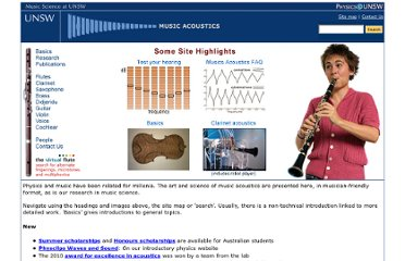 http://www.phys.unsw.edu.au/music/