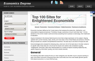 http://www.economicsdegree.net/enlightened-economists/