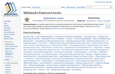 http://en.wikibooks.org/wiki/Wikibooks:Featured_books