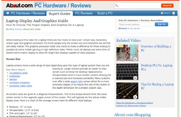 http://compreviews.about.com/od/video/a/Laptop-Display-And-Graphics-Guide.htm