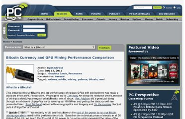 http://www.pcper.com/reviews/Graphics-Cards/Bitcoin-Currency-and-GPU-Mining-Performance-Comparison