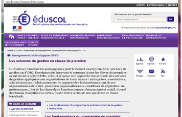 http://eduscol.education.fr/pid26364-cid59815/les-sciences-de-gestion-en-classe-de-premiere.html