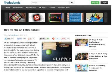 http://edudemic.com/2012/10/how-to-flip-an-entire-school/