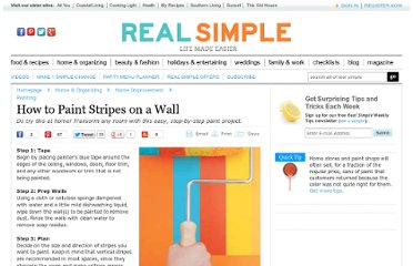 http://www.realsimple.com/home-organizing/home-improvement/painting/paint-stripes-on-wall-00000000034021/index.html