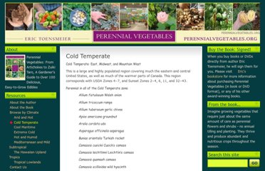 http://perennialvegetables.org/perennial-vegetables-for-each-climate-type/cold-temperate-east-midwest-and-mountain-west/