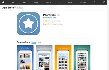 https://itunes.apple.com/us/app/pearltrees/id463462134?mt=8