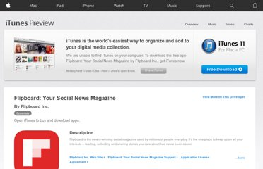 https://itunes.apple.com/us/app/flipboard-your-social-news/id358801284?mt=8