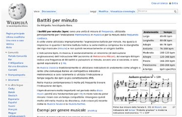 http://it.wikipedia.org/wiki/Battiti_per_minuto