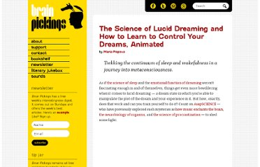 http://www.brainpickings.org/index.php/2012/10/12/the-science-of-lucid-dreaming/