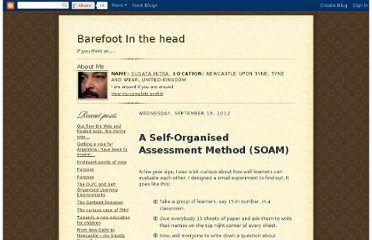 http://sugatam.blogspot.co.uk/2012/09/a-self-organised-assessment-method-soam.html