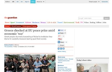 http://www.guardian.co.uk/world/2012/oct/12/greece-eu-nobel-peace-prize-war