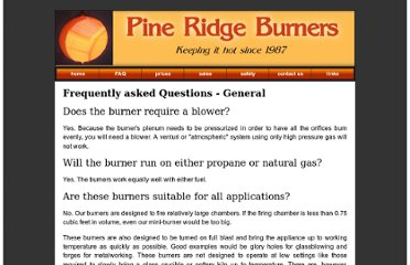 http://www.pineridgeburner.com/faq#safety