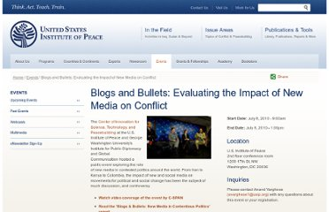 http://www.usip.org/events/blogs-and-bullets-evaluating-the-impact-new-media-conflict