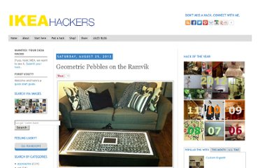 http://www.ikeahackers.net/2012/08/geometric-pebbles-on-ramvik.html#more