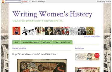 http://writingwomenshistory.blogspot.com/2010_05_01_archive.html