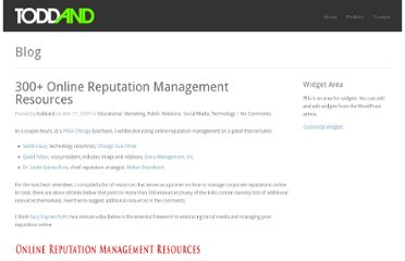 http://toddand.com/2009/03/17/300-online-reputation-management-resources/