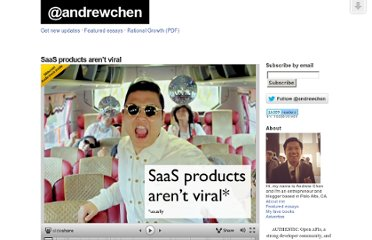 http://andrewchen.co/2012/10/12/saas-products-arent-viral/