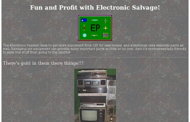 http://www.electronicpeasant.com/sources/salvage.html