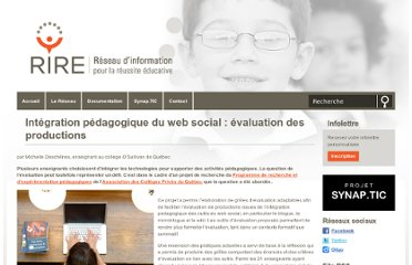 http://rire.ctreq.qc.ca/integration-pedagogique-du-web-social-evaluation-des-productions/