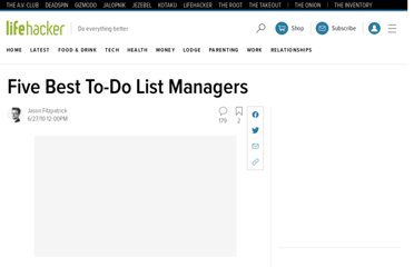 http://lifehacker.com/5573782/five-best-to+do-list-managers