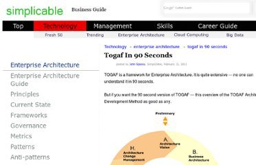 http://simplicable.com/new/togaf-in-90-seconds