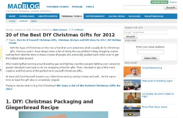 http://blog.mad4flash.com/2012/10/20-of-the-best-diy-christmas-gifts-for-2012/
