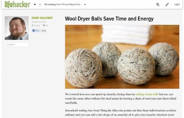 http://lifehacker.com/5951620/wool-dryer-balls-save-time-and-energy