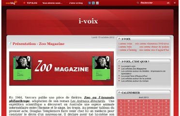 http://www.i-voix.net/article-presentation-zoo-magazine-111169350.html