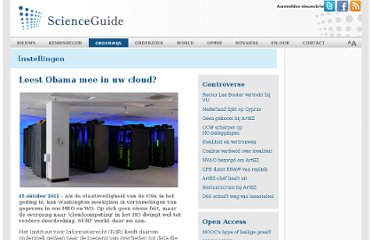 http://www.scienceguide.nl/201210/leest-obama-mee-in-uw-cloud.aspx