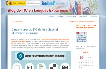 http://recursostic.educacion.es/blogs/malted/index.php/2012/10/15/cinco-maneras-tic-de-impulsar-al-alumnado-a-pensar