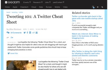 http://gigaom.com/2010/04/07/tweeting-101-a-twitter-cheat-sheet/