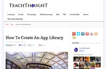 http://www.teachthought.com/apps-2/how-to-create-an-app-library/