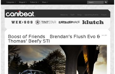 http://www.canibeat.com/2011/07/boost-of-friends-brendans-flush-evo-thomas-beefy-wrx/