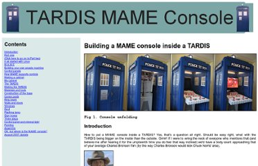 http://www.asciimation.co.nz/tardis/index.html