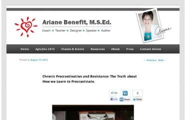 http://arianebenefit.com/blog/2012/08/11/chronic-procrastination-and-resistance-why-we-procrastinate/