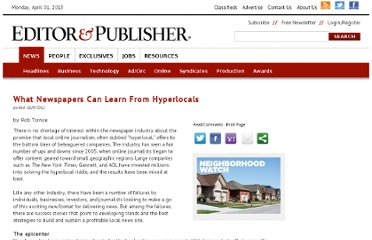 http://www.editorandpublisher.com/Newsletter/Features/What-Newspapers-Can-Learn-From-Hyperlocals