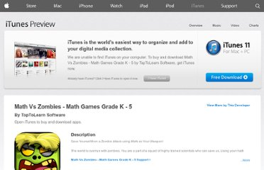 https://itunes.apple.com/us/app/math-games-math-vs-zombies/id470896560?mt=8