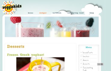 http://www.kidsveggiefood.com/vegetarian-recipes/desserts-puddings-recipes/frozen-greek-yogurt/