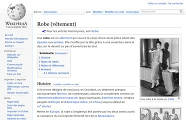 http://fr.wikipedia.org/wiki/Robe_(v%C3%AAtement)