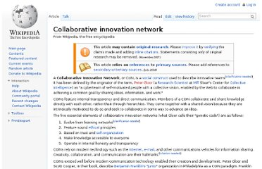 http://en.wikipedia.org/wiki/Collaborative_innovation_network