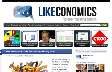 http://www.likeconomics.nl/2011/07/7-zeer-handige-en-gratis-facebook-marketing-tools/
