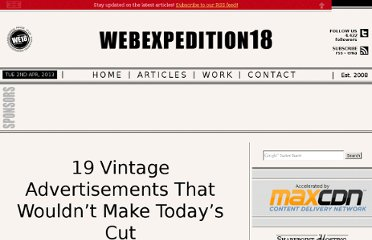 http://webexpedition18.com/articles/19-vintage-advertisements-that-wouldnt-make-todays-cut/#