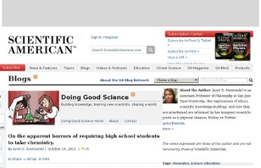 http://blogs.scientificamerican.com/doing-good-science/2012/10/16/on-the-apparent-horrors-of-requiring-high-school-students-to-take-chemistry/